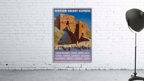 Simplon Orient Express Poster