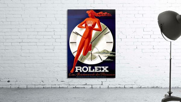 1942 Beyer Zurich Rolex Poster