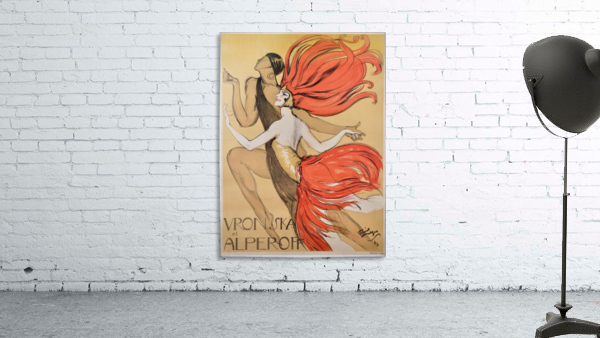 Varonska et Alperoff poster