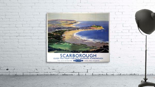 Scarborough British Railways poster