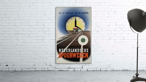 Nederlandse Spoorwegen Poster