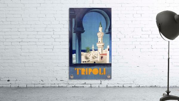 Tripoli travel poster