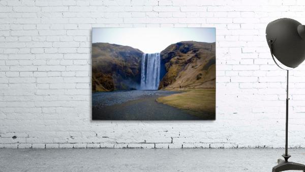 Iceland waterfall