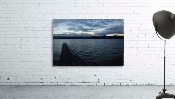 Dusky Dock on Champlain