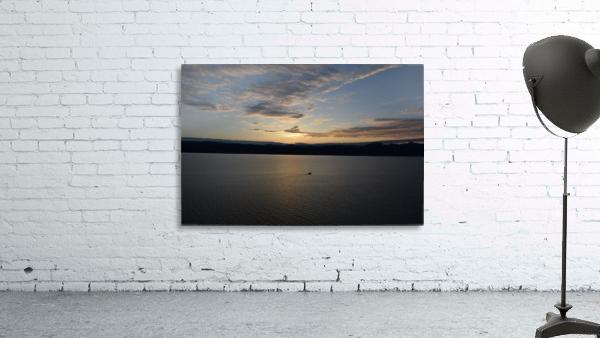 Sunset Boating on Champlain II