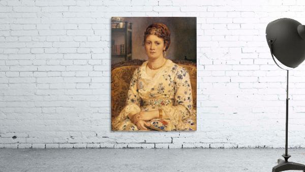 Portrait of Mrs J P Heselitine