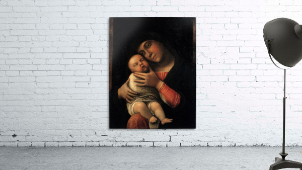 Portrait of Virgin and Child