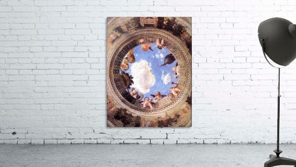 Mantegna Ceiling Oculus in the Camera degli Sposi, Mantova