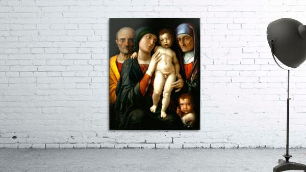 Holy Family with Saints Elizabeth and John the Baptist