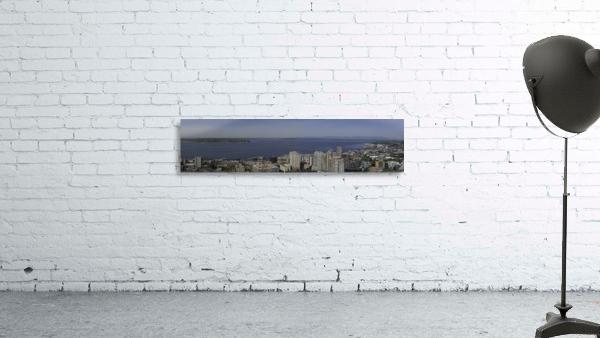 Westward Seattle Panoramic
