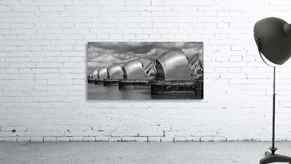 Thames Barrier, London, UK