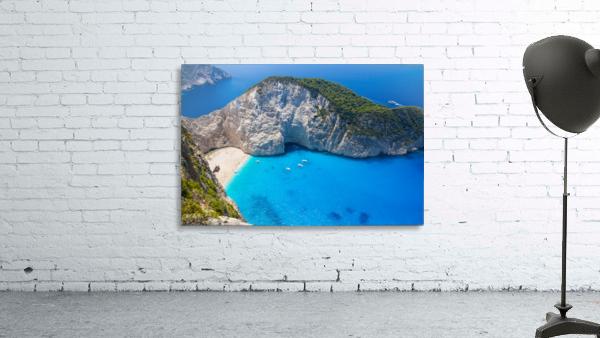 Amazing Navagio Beach in Zakynthos Island, Greece