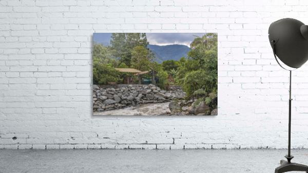 Pastaza River and Leafy Mountains Ecuador copia