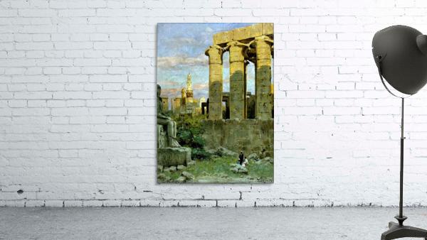 Temple of Luxor, with Abu al Haggag Mosque