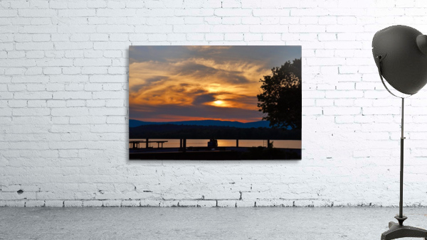 Sunset on the Shores of Ticonderoga
