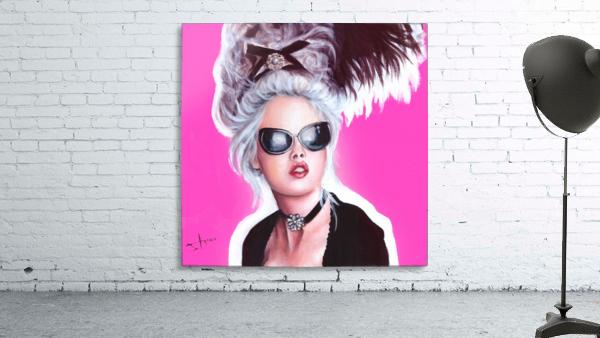 Marie Antoinette inspired art