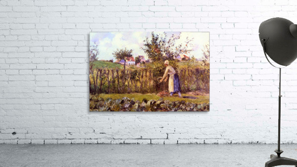 In the Orchard by Pissarro