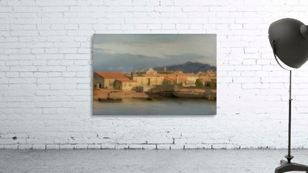 Vue des environs de Marseille