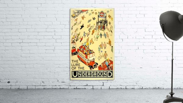 Vintage Travel Poster London Underground