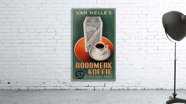 Vintage poster for Van Nelle Roodmerk Koffie