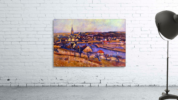 Landscape of Ile de France by Cezanne