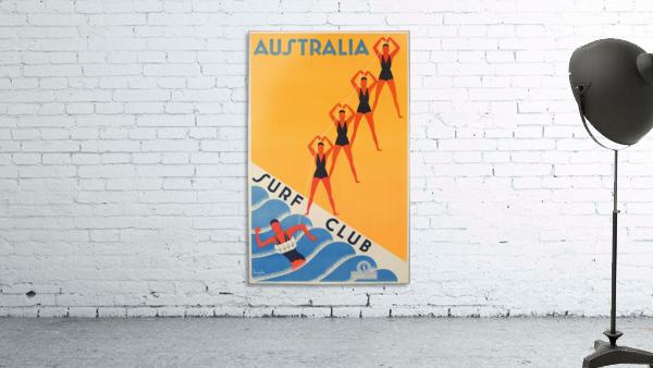 Australia Surf Club poster
