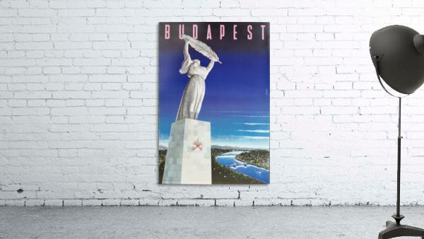 Original vintage poster Budapest