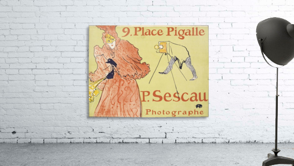 Vintage poster for French Photographe