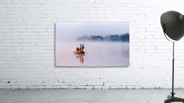 Fishing on Foggy Lake