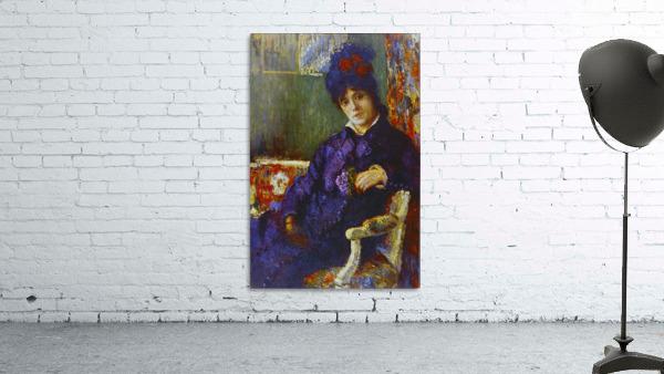 Seated Woman by Cassatt