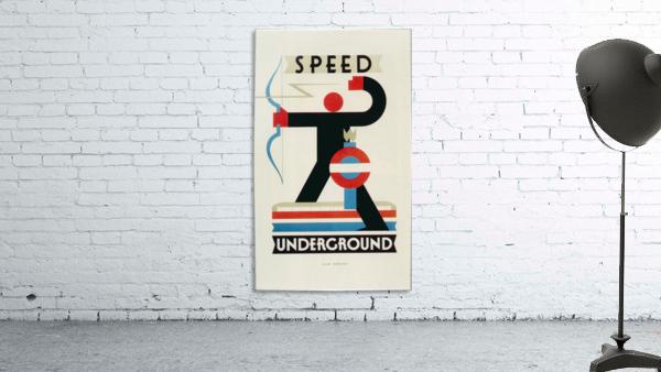 London Speed Underground poster