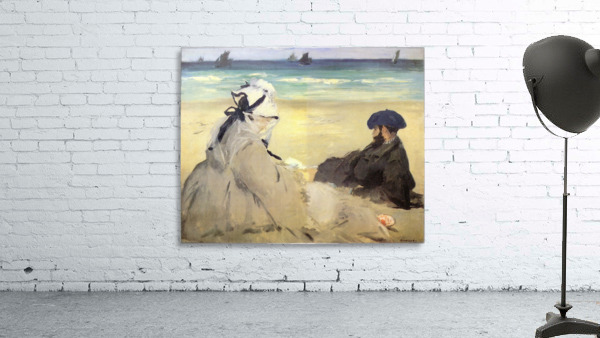 Sur_la_plage_1873 by Manet