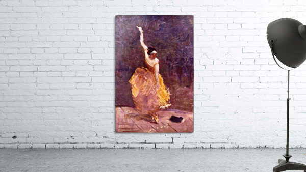 The Dancing Girl by Toulouse-Lautrec
