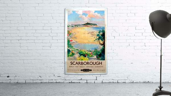 Original Railway Poster Scarborough