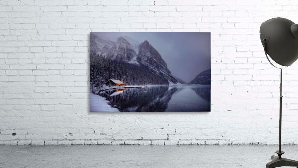 Winter Lake Louise