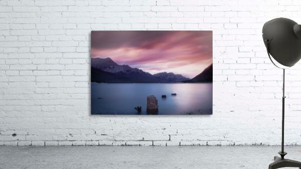 Spray Lake Sunset