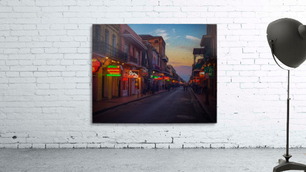 Evening in the Big Easy