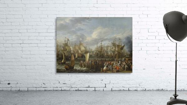 Departure of William III from Hellevoetsluis, 19 October 1688
