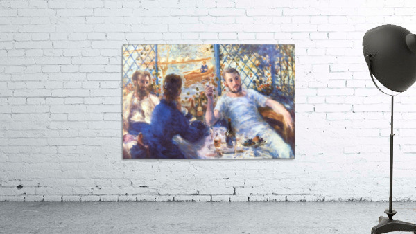 The Rowers Lunch by Renoir