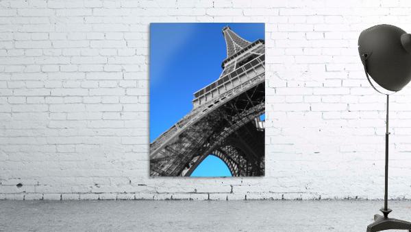 silver Eiffel tower Paris