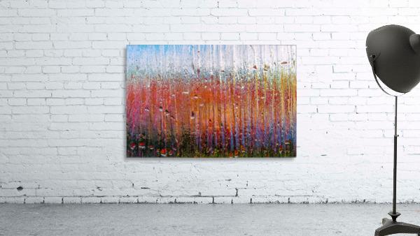 Glass Colorful Abstract Background Color Drip