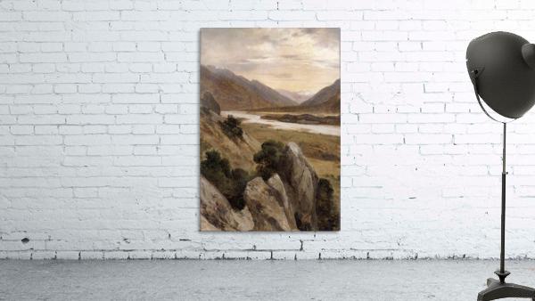 Mountainous Riverscape