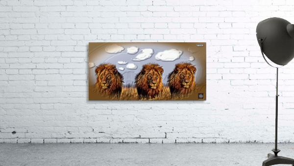 art   lion 3D  A