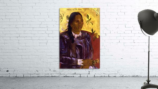 Woman with Gardenia by Gauguin