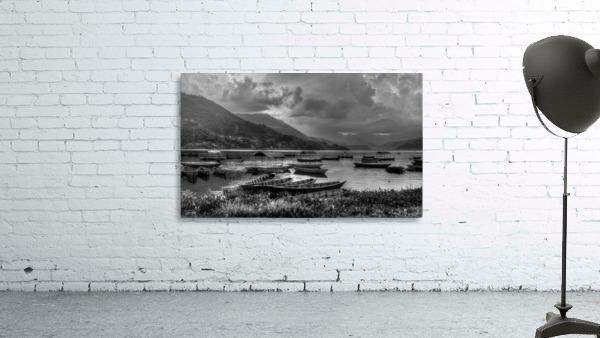 Monochrome Madness - Fewa Lake