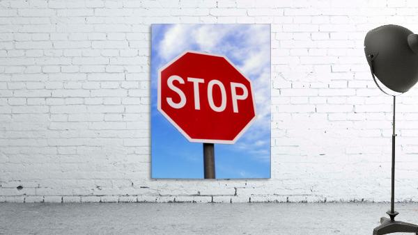 Stop Sign; Ireland