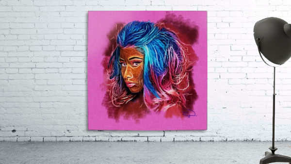 Nicki Minaj Abstracto