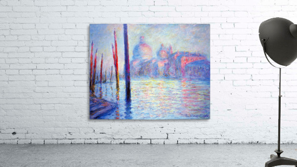Canal Grand by Monet