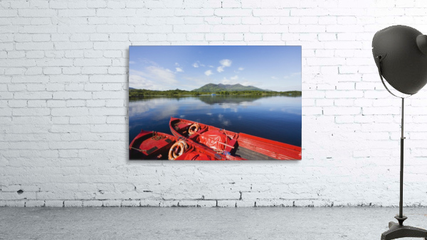Killarney, County Kerry, Munster, Ireland; Two Boats In The Water