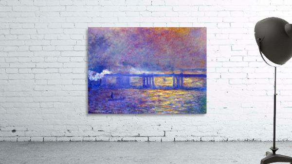 Charing cross bridge by Monet